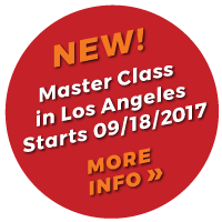 Callout for New Master Class Starting September 18, 2017 in Los Angeles