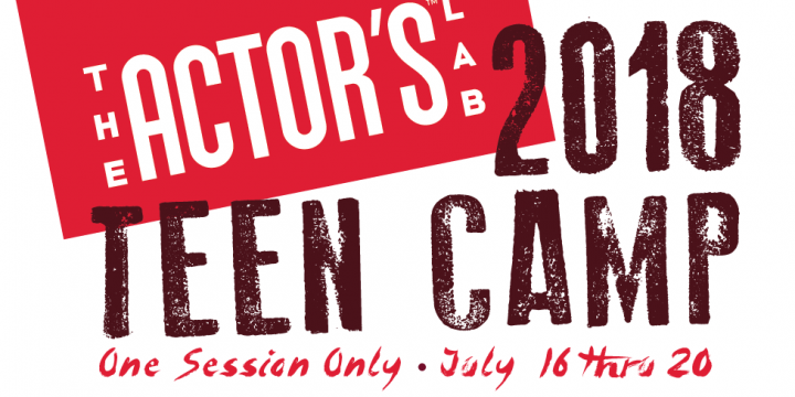Teen Acting Camp, Summer 2018