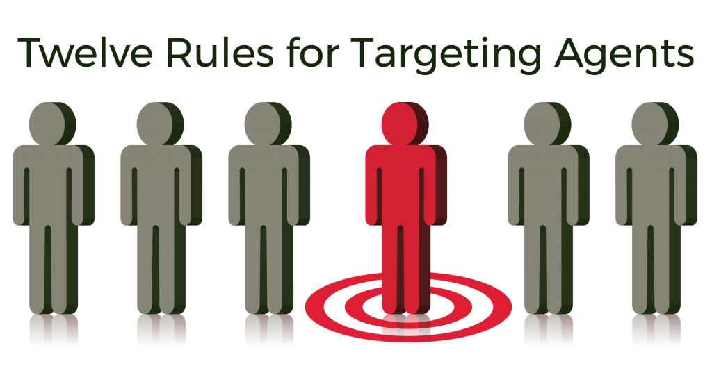 Twelve Rules for Targeting Agents