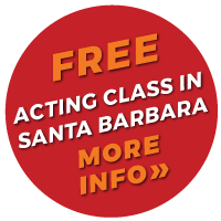Callout Burst Promoting Free Class at Santa Barbara Actor's Lab